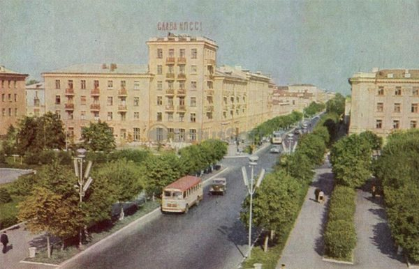 Улица республики. Тюмень, 1969 год