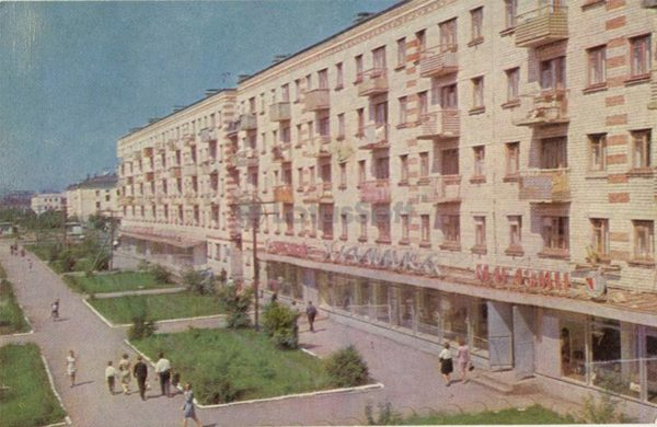 """Книжный магазин """"Новинка"""". Тюмень, 1969 год"""