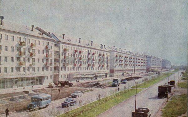 Улица Мельникайте. Тюмень, 1969 год