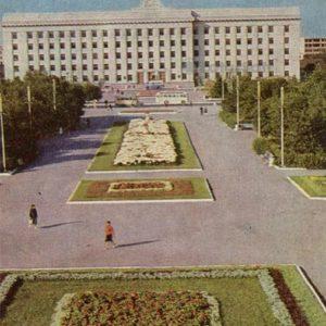 House of Soviets. Tyumen, 1969