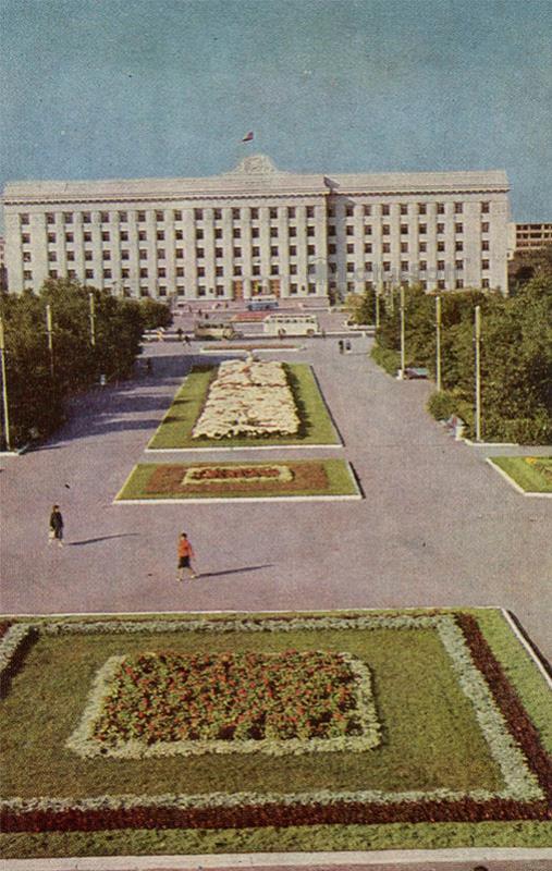 Дом советов. Тюмень, 1969 год