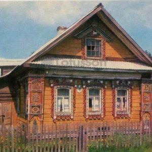 Жилой дом - памятник архитектуры XIXв. Углич, 1974 год