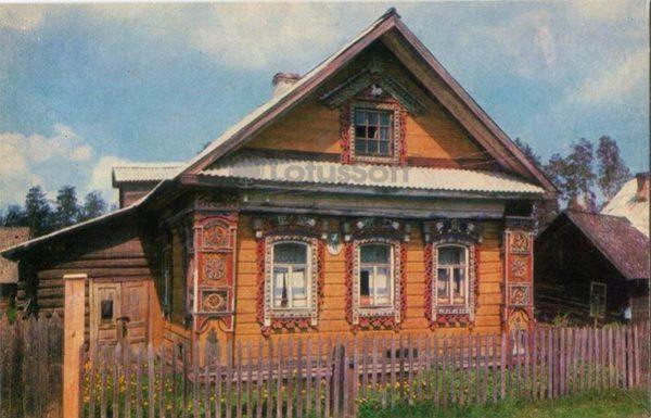 Жилой дом – памятник архитектуры XIXв. Углич, 1974 год