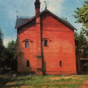 Кремль. Палаты царевича Дмитрия в кремле 1482 год. Углич, 1974 год