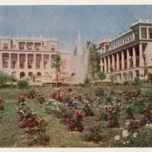 Dzerzhinsky Sanatorium. Sochi, 1958