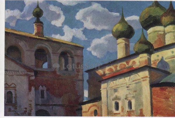 Воскресенский монастырь. Углич. М.Н. Соколов, 1968 год