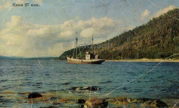 Белое море. Кандалакша, 1973 год