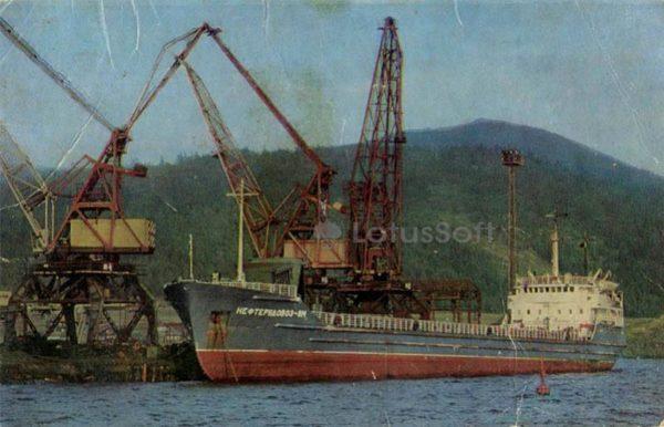 Морской порт. Кандалакша, 1973 год