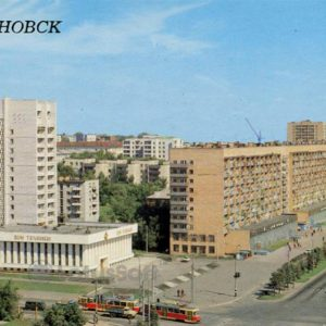 House of technology on the street named after DD Minaev, 1987