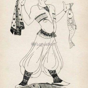 Рыбак Гиго, 1976 год