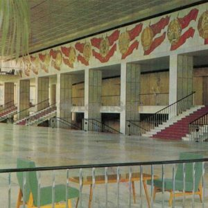 Foyer of the Kremlin Palace of Congresses, in 1985