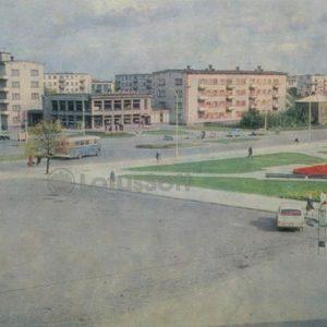 Station Square. Siauliai, 1973