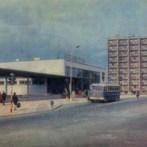 Автобусная станция. Шауляй, 1973 год
