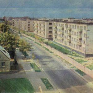 Vytautas Street. Siauliai, 1973