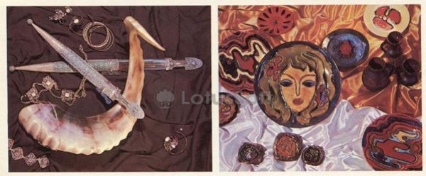 Products Abkhaz craftsmen, 1978
