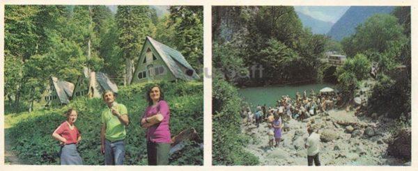 "Chalet ""Southern shelter."" At Blue Lake, 1978"