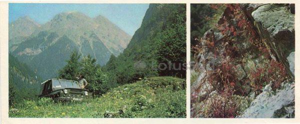 В горах Абхазии, 1978 год
