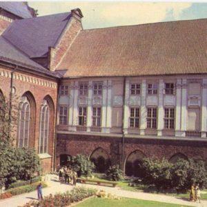 Внутренний двор Домского собора, 1981 год
