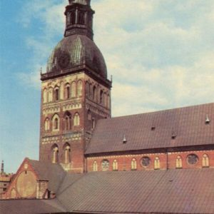 Dome Concert Hall. Riga, 1981