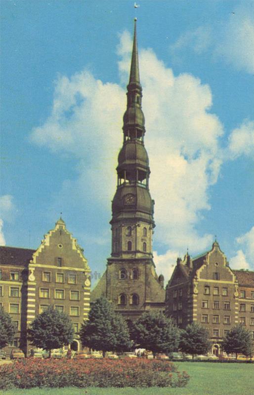 Собор Петра. Рига, 1981 год