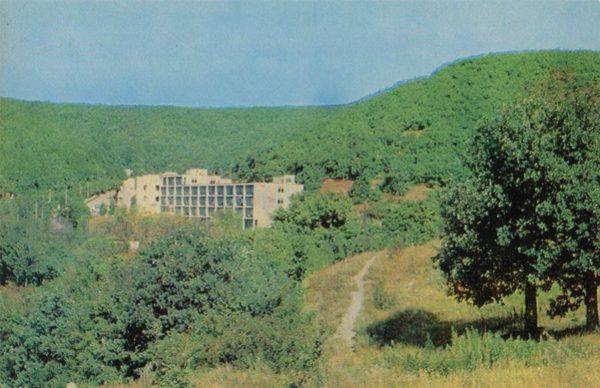 """Sanatorium """"October gorge."""" Saratov, 1972"""