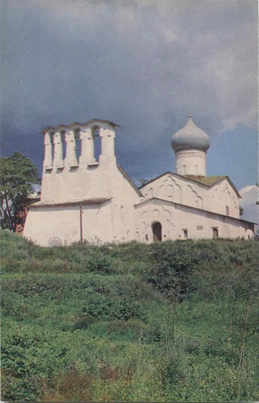 Церковь Богоявления с Запсковья. 1496 г. Псков, 1969 год