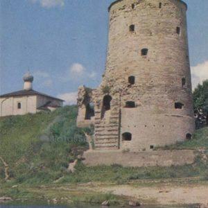 Гремячья башня. 1525 . Псков, 1969 год