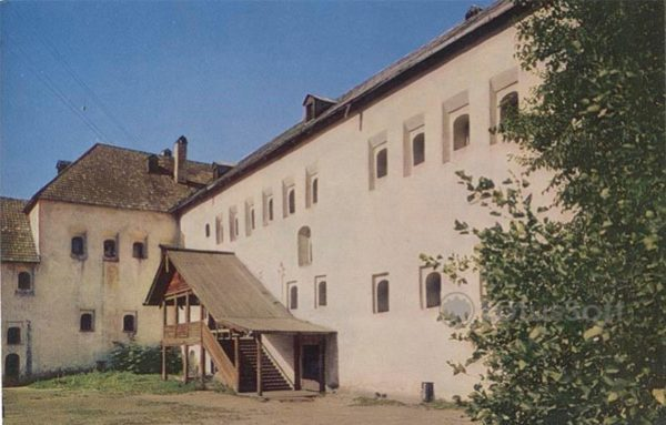 Поганкины палаты. XVII в. Псков, 1969 год