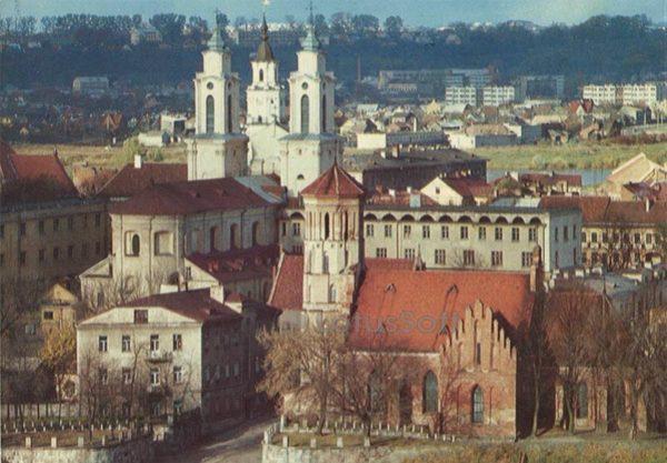 Старый город. Каунас, 1981 год