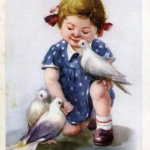 Cards for children. Friends, 1957