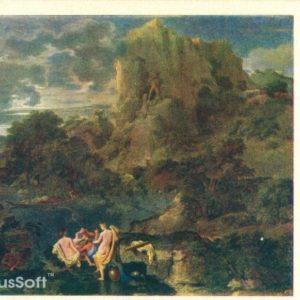 Пейзаж с Геркулесом и Какусом. Пуссен, 1957 год