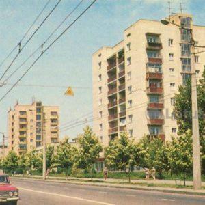 Cheryomushki. Novoselov Street. Odessa, 1973