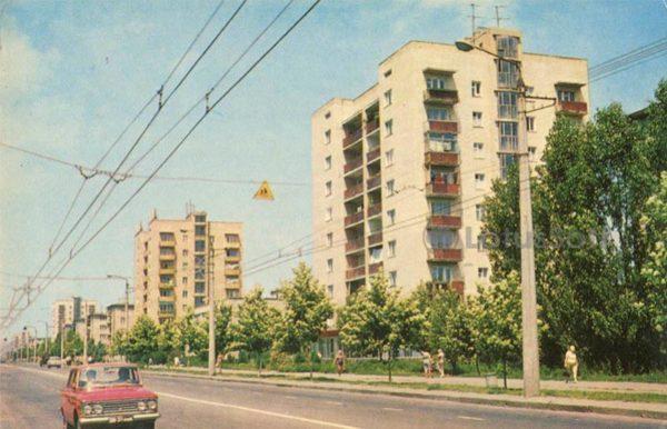 Черемушки. Улица Новоселов. Одесса, 1973 год