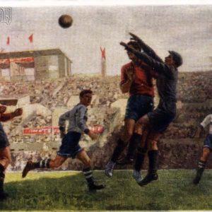 Footballers hud.S.Luppov, 1950