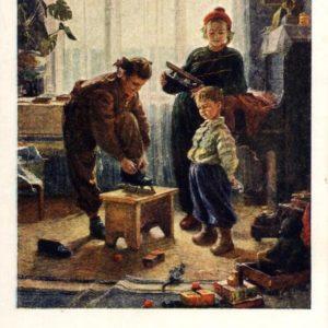 Winter came hud.V.Zholtok, 1955