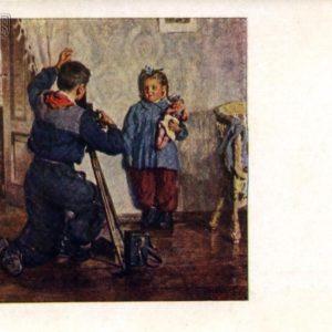 Tanya, do not blink! hud.M.Bozhy, 1955