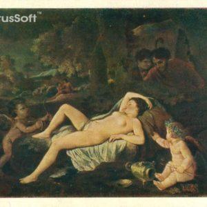 Спящая Венера. Пуссен, 1957 год