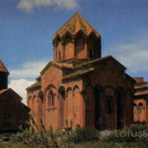 Marmashensky Temple IX century. Gyumri, Leninakan), 1972