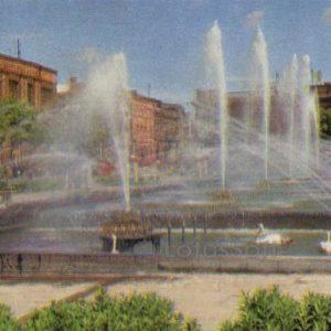 Heroes Square May Uprising. Gyumri, Leninakan), 1972