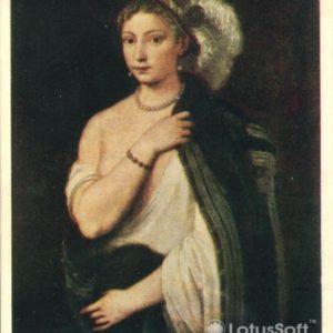 Портрет молодой женщины. Тициан, 1957 год