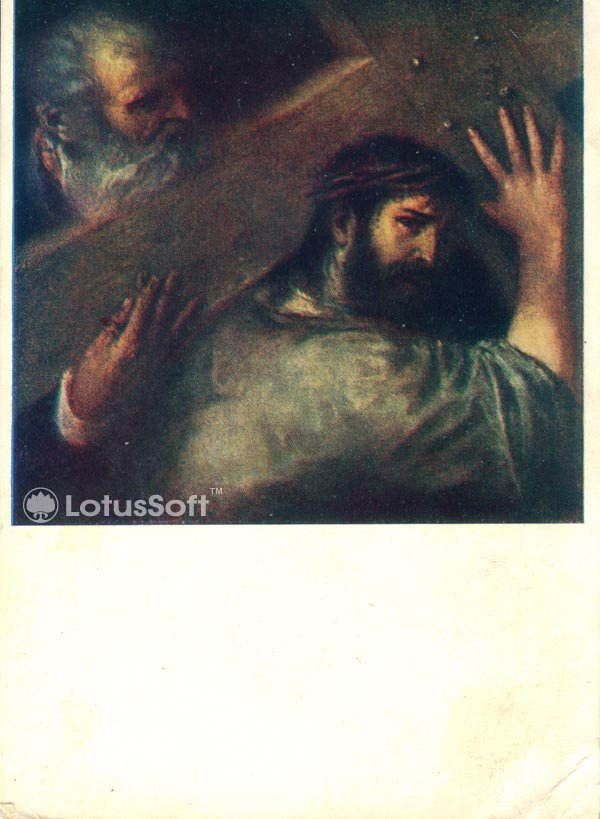 Christ Carrying the Cross. Titian, 1957
