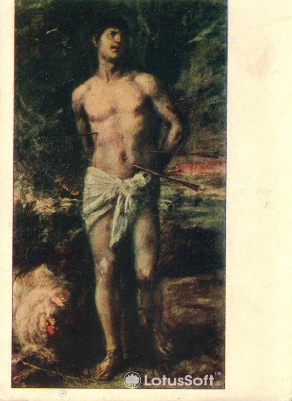 Saint Sebastian. Titian, 1957