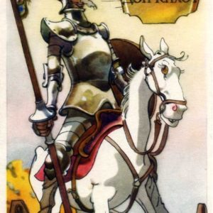 Дон Кихот. Иллюстрация К. Ротова, 1958 год