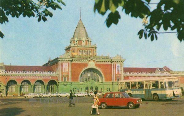 Train Station. Chernihiv, 1978