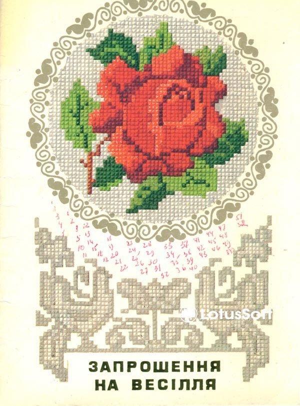 Запрошення на весiлля 1985 год