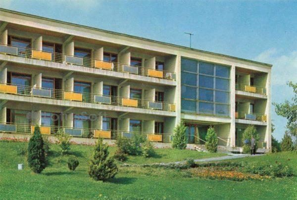 "Sanatorium ""Crystal Palace"". Dormitory 4. Truskavets, 1971"