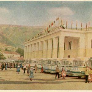 Морской вокзал. Ялта, 1961 год