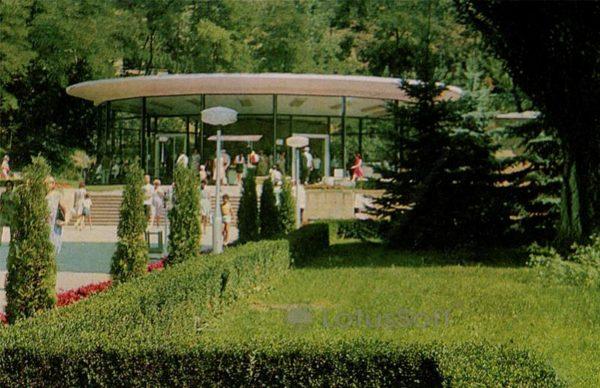 New narzan pump room. Kislovodsk, 1974