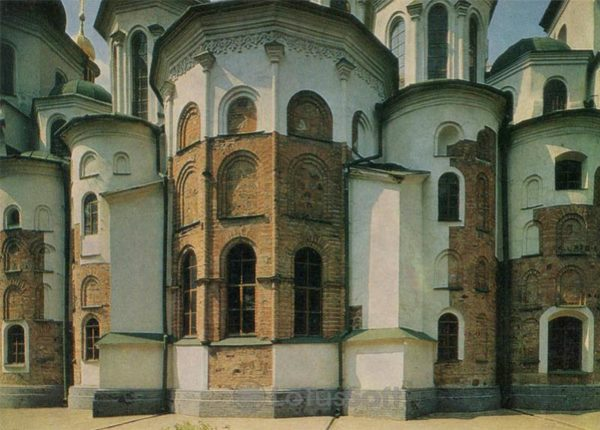 Apse. Sophia Cathedral, 1973