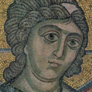 Evharstiya. Mosaic. Sophia Cathedral, 1973